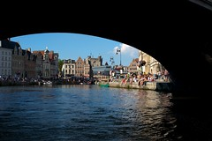 Gent by B (Bibi) Tags: voyage trip travel brussels rio river boat europa europe belgium belgique belgi rivire viagem tunel ghent gent gand blgica 2011 bgica