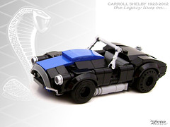 Shelby Cobra (ZetoVince) Tags: ford car greek cobra lego ace vince shelby vehicle carroll minifig ac cabrio roadster blackrims zeto foitsop zetovince
