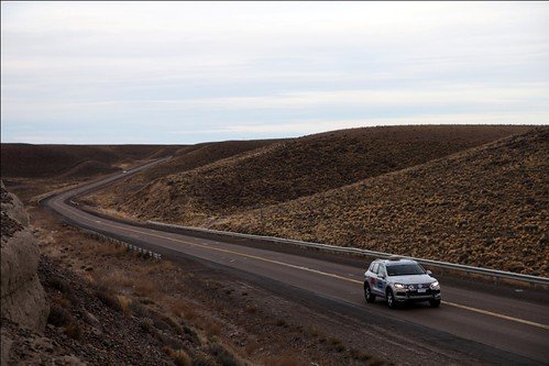 We drove south from Buenos Aires towards the TDI-Panamericana starting point in Ushuaia.