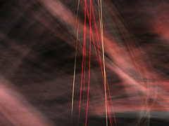 Lasers from above (waruzm) Tags: sunset cameratoss icm intentionalcameramovement