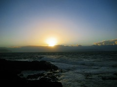Portstewart (Simon Crubellier) Tags: uk ireland sunset canon europe britain ixus northernireland simoncrubellier ixus70 58174mm