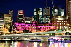 casino brisbane (rideritaliano) Tags: city festival river boat nikon long exposure brisbane vr niight 18105 d7000