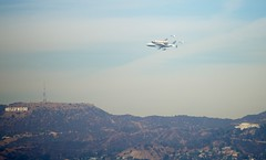 Shuttle Endeavor Flyover Griffith Observatory and Hollywood Sign View Outside My Window (The City Project) Tags: trees window losangeles view hollywood shuttle cityproject southcentrallosangeles hollywoodsign griffithpark flyover endeavor californiasciencecenter afsvrzoomnikkor70200mmf28gifed robertgarcia cityprojectca vomw