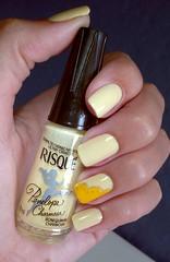 #Desafio10cores10marcas #6. Amarelo (Jeh Goudel) Tags: amarelo risque unha esmalte decorada desafio10cores10marcas