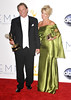Tom Berenger, Laura Moretti 64th Annual Primetime Emmy Awards, held at Nokia Theatre L.A. Live