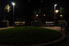around the green (patart00) Tags: london night lights benches embankment victoriaembankment chiars