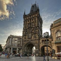 9443_F (Torre de la Plvora, Praga (Repblica Xeca)) (Rafelot) Tags: republica canon europe torre vieja ciudad praha praga stare checa polvora mesto josefmocker xeca 1000d eixidetes rafelot amicsdelacamera afsueca afcastello
