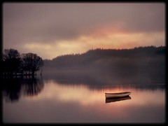 Empty (kenny barker) Tags: morning mist landscape dawn scotland explore trossachs lochard olympusep1 kennybarker
