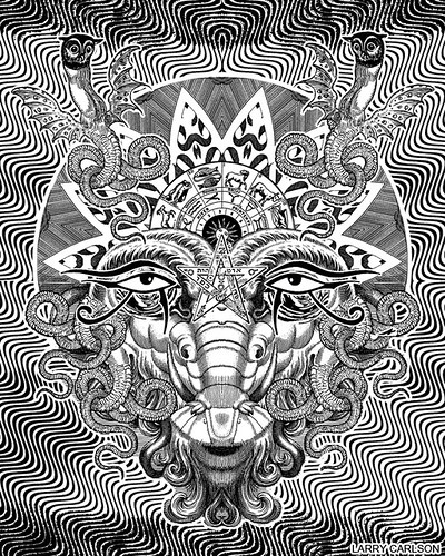 LARRY CARLSON, Image 1, Astronomica Volume 2, 2012