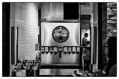 Washington DC (Steffell) Tags: bw usa washingtondc cola streetphotography coca