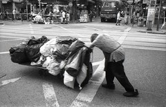 (David Davidoff) Tags: street candid rich poor disparity socialproblems povertyline