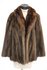 1029. Brown Mink Jacket, John Baldwin, 1950s