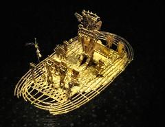 Bogota, Colombia - The Muisca Raft (Balsa Muisca in Spanish) (greenseaweed) Tags: latinamerica southamerica museum gold colombia bogota museo oro museodeloro goldmuseum