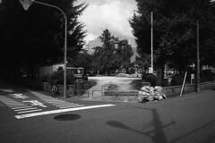 Days 12 (Yoshikatsu Sato) Tags: street city blackandwhite bw monochrome playground japan landscape cityscape 大阪 日本 osaka 風景 umeda 公園 fragment 街 梅田 町 モノクロ 白黒 都市 モノクローム ストリート