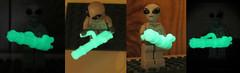 Glow in the Dark Picture Test (ToyWiz.com) Tags: toys lego minigun minifigure brickarms legomilitary toywiz legoweapon toywizcom
