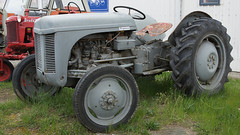 Ferguson TEA Tractor. (Hugh McCall) Tags: old tractor history classic rural trek vintage general diesel antique farm country rally farming canterbury restored enthusiast petrol gasoline agriculture tractors plowing timers kerosene tilling hydraulic implements trattore ploughing