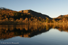 Coniston Water & Old Man of Coniston (Midgehole Dave) Tags: autumn england lake reflection water coniston conistonwater southlakelanddistrict yahoo:yourpictures=waterv2 yahoo:yourpictures=myautumn yahoo:yourpictures=reflectionsv2
