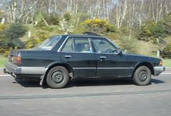 1980S HONDA ACCORD MK2 (Yugo Lada) Tags: old black cars car honda accord nice driving motorway retro 1980s rare mk1