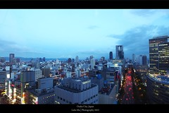 Before night view, Osaka, Japan (Luke,Ma) Tags: street city building japan skyline night digital ed four photography view shot traffic spirit olympus m micro   ez osaka ba  prefecture kansai  shi sai umeda shinsaibashi hankyu midosuji 43 omd shin mitsukoshi thirds   isetan      m43   greatphotographers   mzd f4056 osakashi em5 osakafu  flickraward dtonbori bashisuji 918mm mzuiko m918 flickrtravelaward ezm918