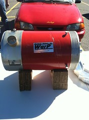 WARP Electric Motor for EV (Greenlivingguy) Tags: greencars electriccars greenbusiness