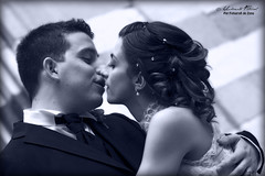 Alice e Dario (Umberto Fistarol) Tags: blue wedding portrait white black love groom bride alice marriage romantic dario