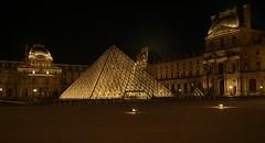 (Alain ) Tags: paris 2016 louvre pyramide denuit bynight
