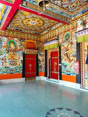 . (S_Artur_M) Tags: india indien reise travel rumtek monastery himalaya sikkim panasonic lumix tz10 buddhism architecture architektur asia