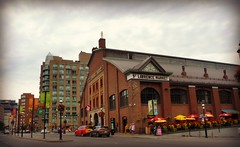 """""""World's Best Food Market""""  - National Geographic (2012)  -  Explored (Trinimusic2008 -blessings) Tags: trinimusic2008 judymeikle urban architecture summer today july 2016 toronto to ontario canada explored candid stlawrencemarket panasonicdmczs27"""