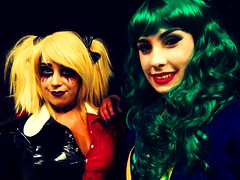 sheffield film and comic con (the_gonz) Tags: sheffieldfilmandcomiccon comiccon cosplay showmasters cool sexy geek sexygirl sexymodel blonde fit girl harleyquinn batman latex arkham gotham dc