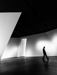 its a diagonal world (/ Georg /) Tags: dresden militrhistorisches museum minimal street humaningeometry diagonal monochrome step silhouette light urban geometry composition