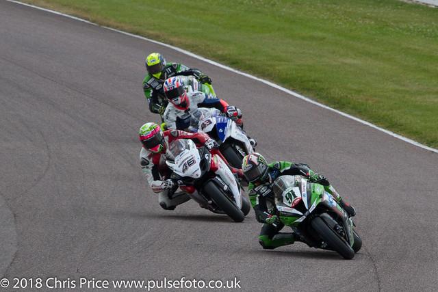 MCE British Superbikes warm up, Thruxton July 24th 2016