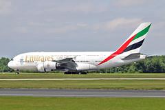 "A6-EDV Airbus A.380-861 Emirates MAN 17-07-16 (PlanecrazyUK) Tags: egcc manchester man ringway ""manchester airport"" a6edv airbusa380861 emirates 170716"