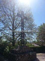 20160504_121830 (coldgazemedia) Tags: france taiz saneetloire burgundy taizcommunity communautdetaiz photobank stockphoto bluesky blue tree cross outdoor