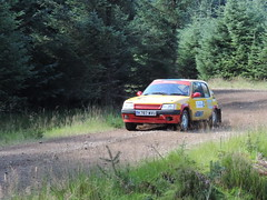 Grampian Stages Rally 2016 (RS Pictures) Tags: grampian coltel stages rally 2016 scottish championship src motorsport ss2 durris stage forest forestry road track peugeot 205 rallye auto