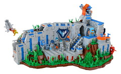 CC - Nexo Recon Hub (Dubbadgrim) Tags: lego nexo moc castle