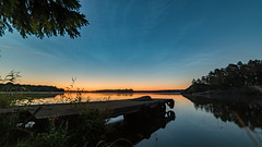 Lake Stora Rngen (jarnasen) Tags: nikon d810 samyang14mmf28 14mm wideangle hdr tripod multipleexposure lake lakescape morning dawn sunrise calm mood atmosphere vrdns trees jetty blue noctilucent clouds sky himmel sweden sverige stergtland nordiclandscape landscape scandinavia nature outdoor copyright jrnsen jarnasen