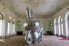 Silverio Rabbit (MR@tter) Tags: badenwrttemberg deutschland kunst schlossschwetzingen schwetzingen art sigma1770 schwetzingenpalace silbergrn natalijaribovic kunstaktion artevent
