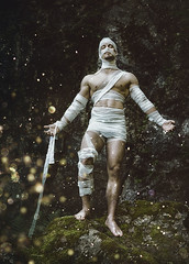 Eternal Life (d@rkmarmotte) Tags: photoshop zuiko olympus omd em1 omdem1 model conceptuel man manmodel muscle fitness muscular portrait conceptual conceptualportrait muscledboy