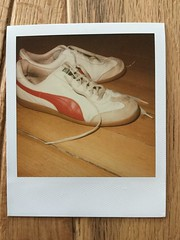 sneakers (tobiasbegemann) Tags: sneakers red white color tobias begemann saarbrcken germany world street landscape people animal travel nature photography creative commons flickr polaroid fuji instax