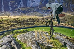 High jump (bainebiker) Tags: bmx cycle canonef24mmf14liiusm bmxstunt caderidres wales