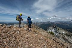 _DSC1611 copy (Gabi Hiking) Tags: daniel cascades hiking scrambling backpacking washington i90 salmonlasac peggy pond mountains clouds peak ridge hiker adventure