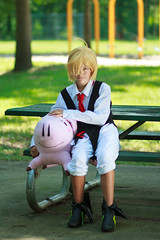 IMG_8414 (firecloak) Tags: sevendeadlysins nanatsunotaizai cosplay meliodas boy hawk pig