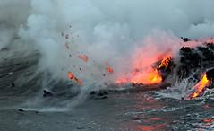 Hot Stuff (Sckchen) Tags: hawaii bigisland lava ocean entry dassoeckchen
