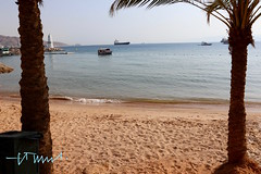 The Beach of Aqaba, Red Sea, Jordan (Sebastiao P Nunes) Tags: playa praia beach sand areia arena marvermelho redsea marrojo aqaba jordan jordania canoneos70d snunes spnunes spereiranunes nunes