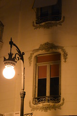 at night (Hayashina) Tags: spain valencia lamp window