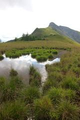 Val Visdende (pancy_bun) Tags: lake lakes reflection reflections riflessi green grass coudy clouds nuvole montagna montagne mountains sky dolomiti dolomitas dolomites dolomitibellunesi