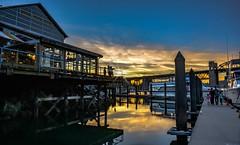 For the love of light (Images by Christie  Happy Clicks for) Tags: sea burrardbridge granvilleisland sunset dusk twilight goldenhour bc canada nikon d5200 falsecreek