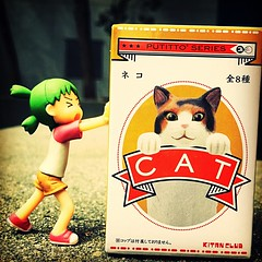 Yotsuba and the cat (Luckykatt) Tags: yotsuba cat luckykatt mycollection
