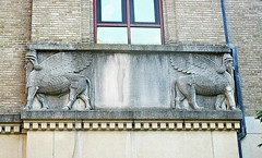 Winged condo guards (DannyAbe) Tags: pythian temple artdeco assyrian manhattan upperwestside basrelief winged