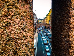 Sweden | Stockholm (DILADIDA) Tags: sweden visitsweden stockholm stockholmcity city street road houses buildings people cars architecture outdoor streetphotography color bridge view